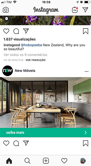 New Móveis Instagram