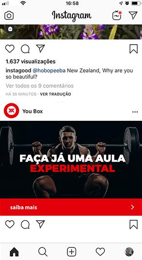 YouBox Instagram